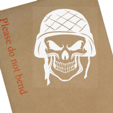Soldier Skull-War,Army,Helmet,Veteran,Gun,Tank,Game,COD,Battle,Field,Emblem,Sign,Sticker,Cool,Gun